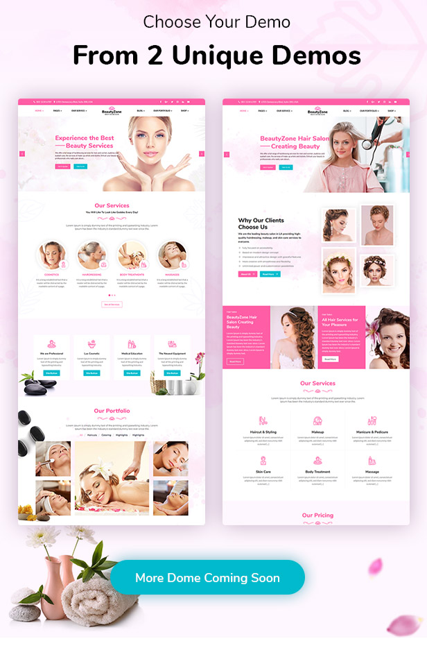 BeautyZone: Beauty Spa Salon & Massage HTML Template - 7